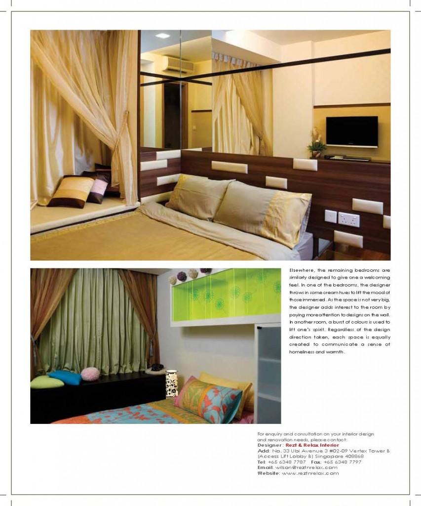 Fashion Design Interior Design Singapore: Rezt & Relax Interior Design