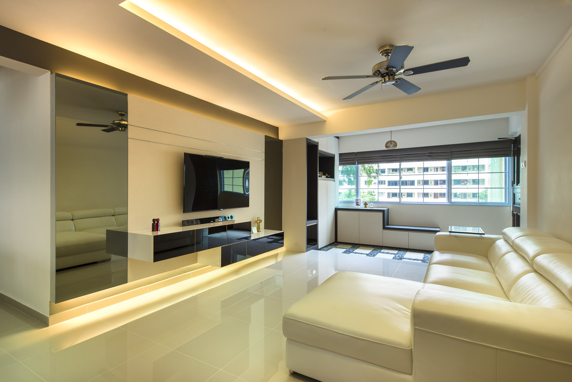 Case study hdb 5 rooms at bedok rezt relax interior for 3 room hdb design ideas